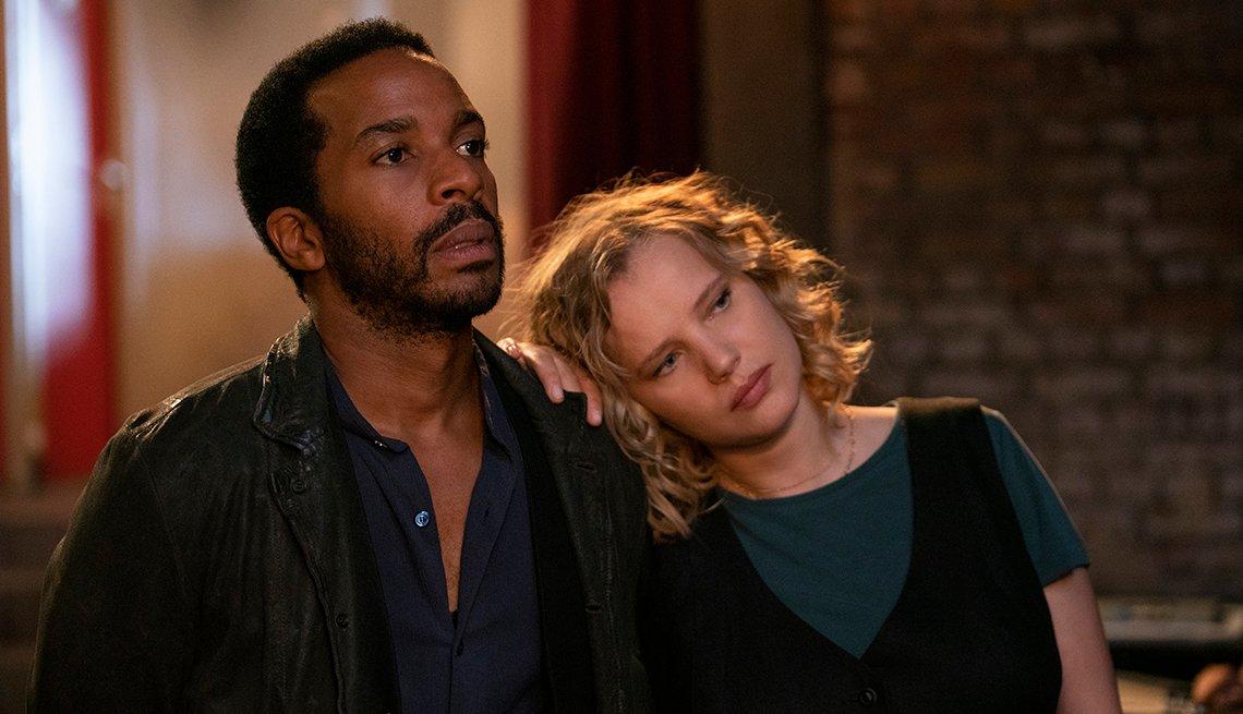 André Holland como Elliot Udo y Joanna Kulig como Maja en el show de Netflix The Eddy