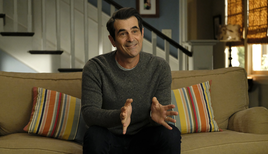 Ty Burrell stars as Phil Dunphy in the A B C show Modern Family
