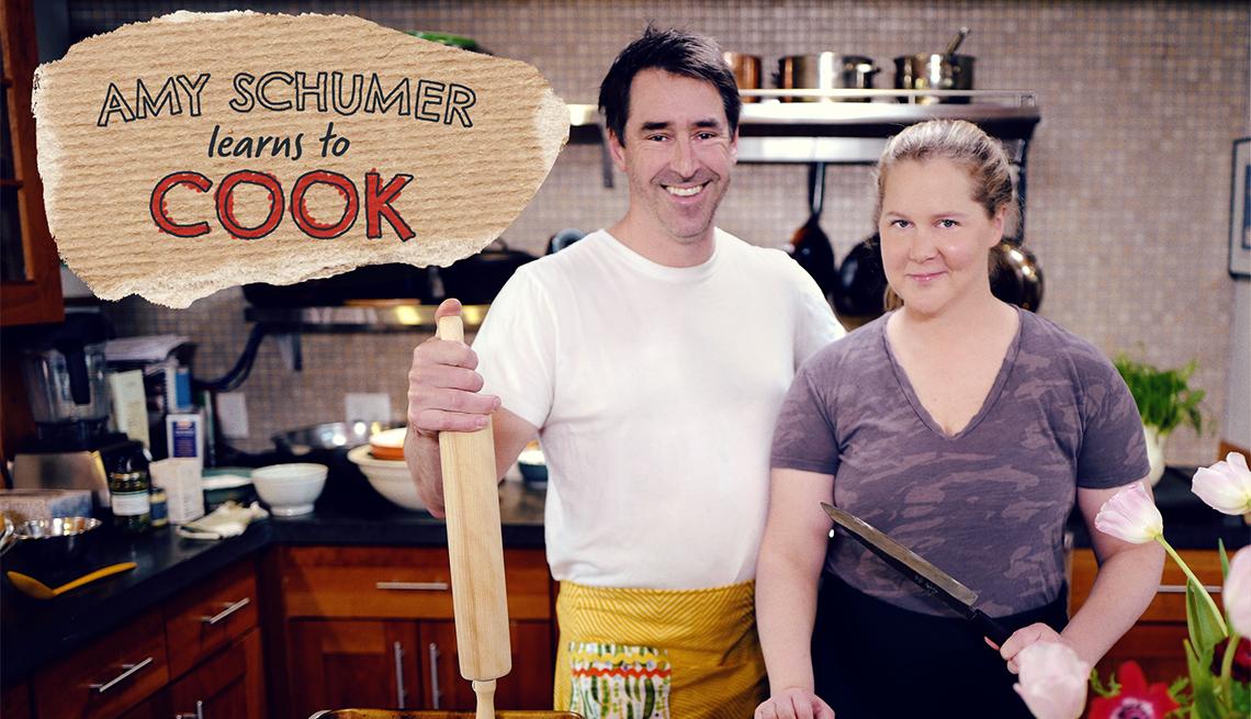 Amy Schumer y su esposo Chris Fischer