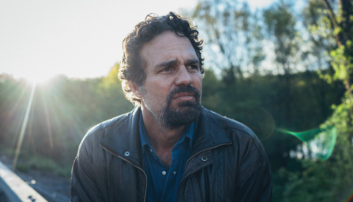 Mark Ruffalo in a scene from the H B O miniseries I Know This Much Is True