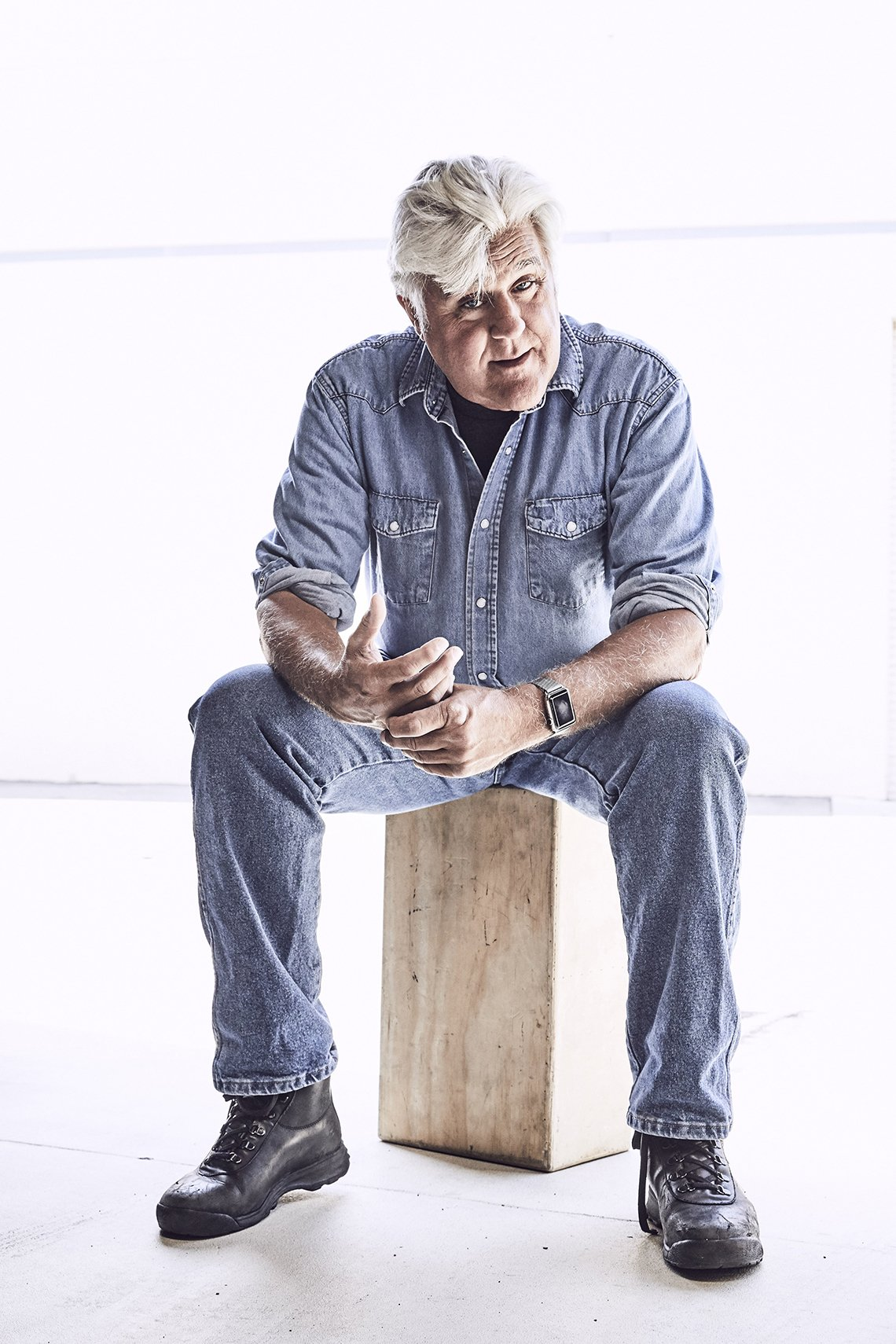 Comedian and former talk show host Jay Leno
