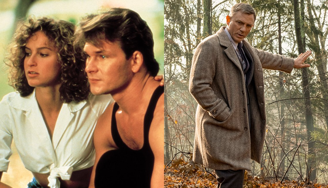 Jennifer Grey Patrick Swayze and Daniel Craig