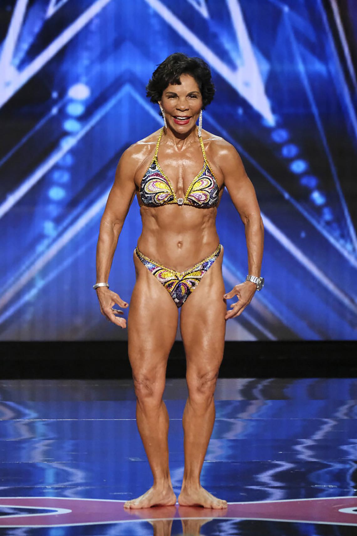 La concursante de America's Got Talent Josefina Monasterio