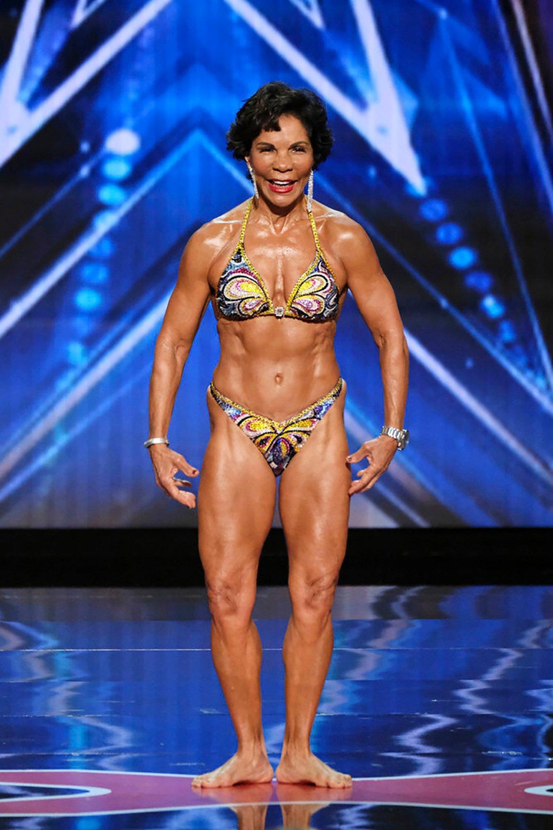 Contestant Josefina Monasterio on Americas Got Talent