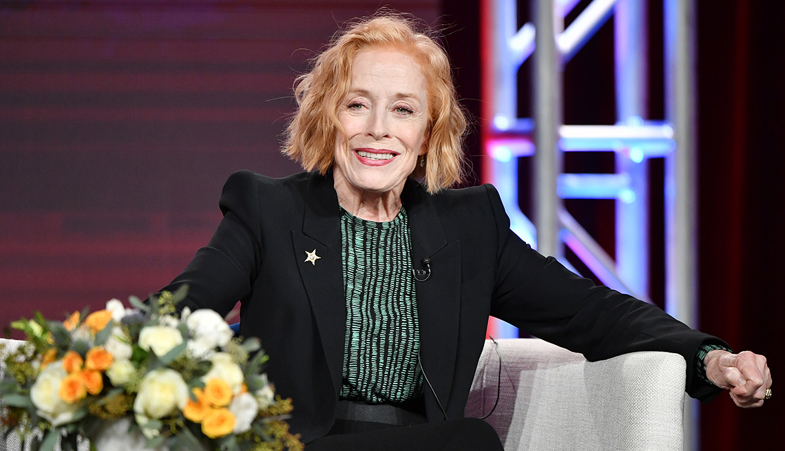 Holland Taylor during an interview