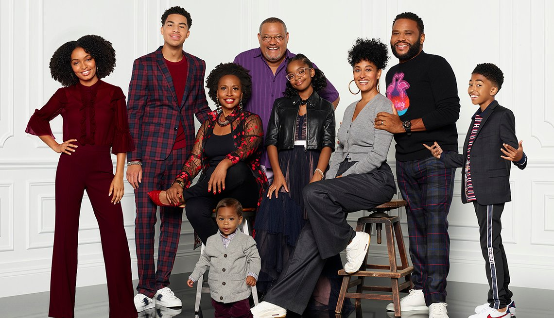 The cast of Black ish