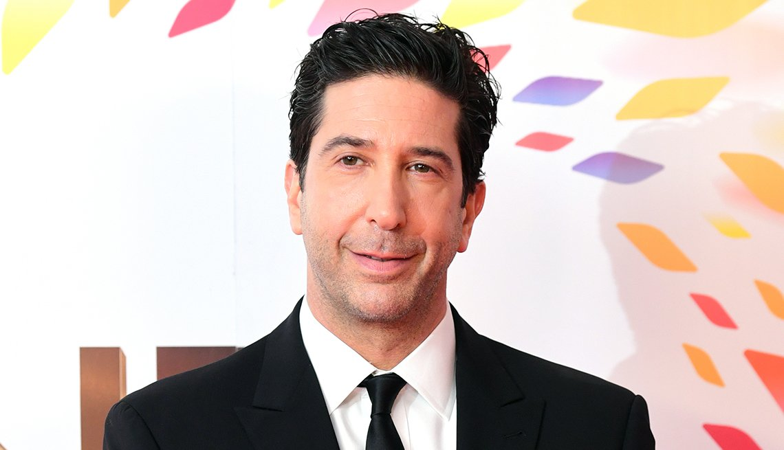 David Schwimmer at the National Television Awards at London O 2 Arena