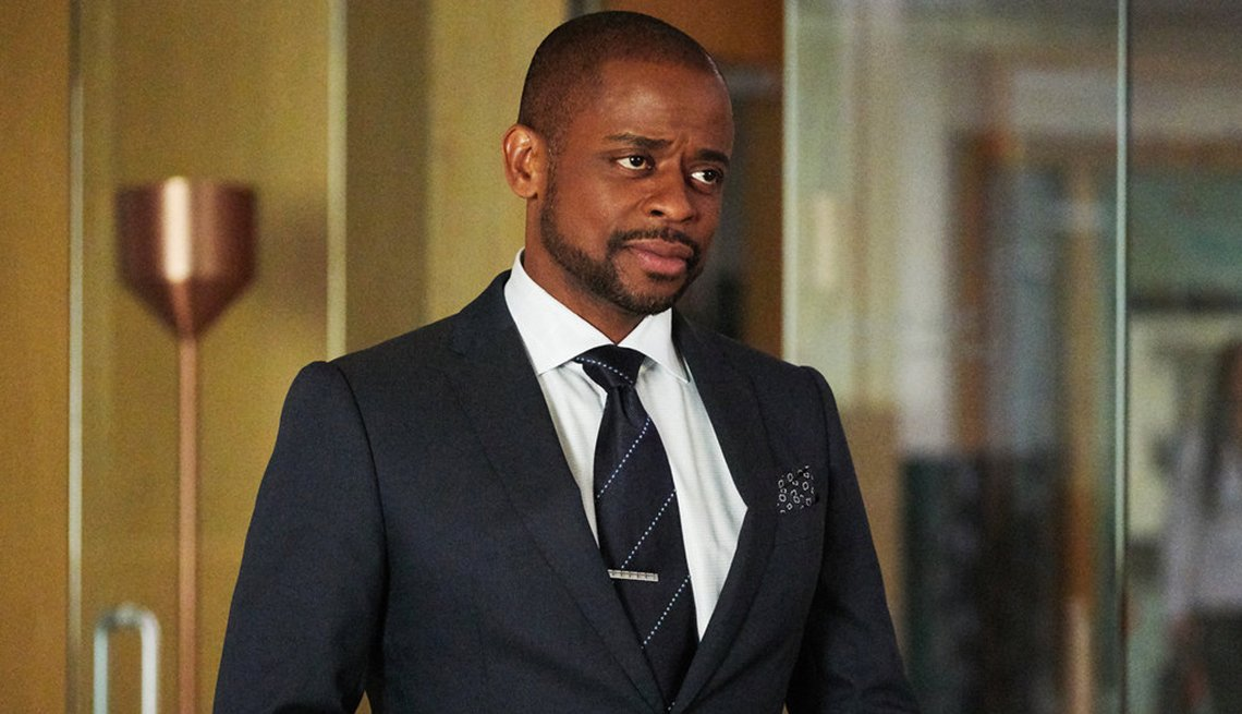 Dule Hill in the television series Suits