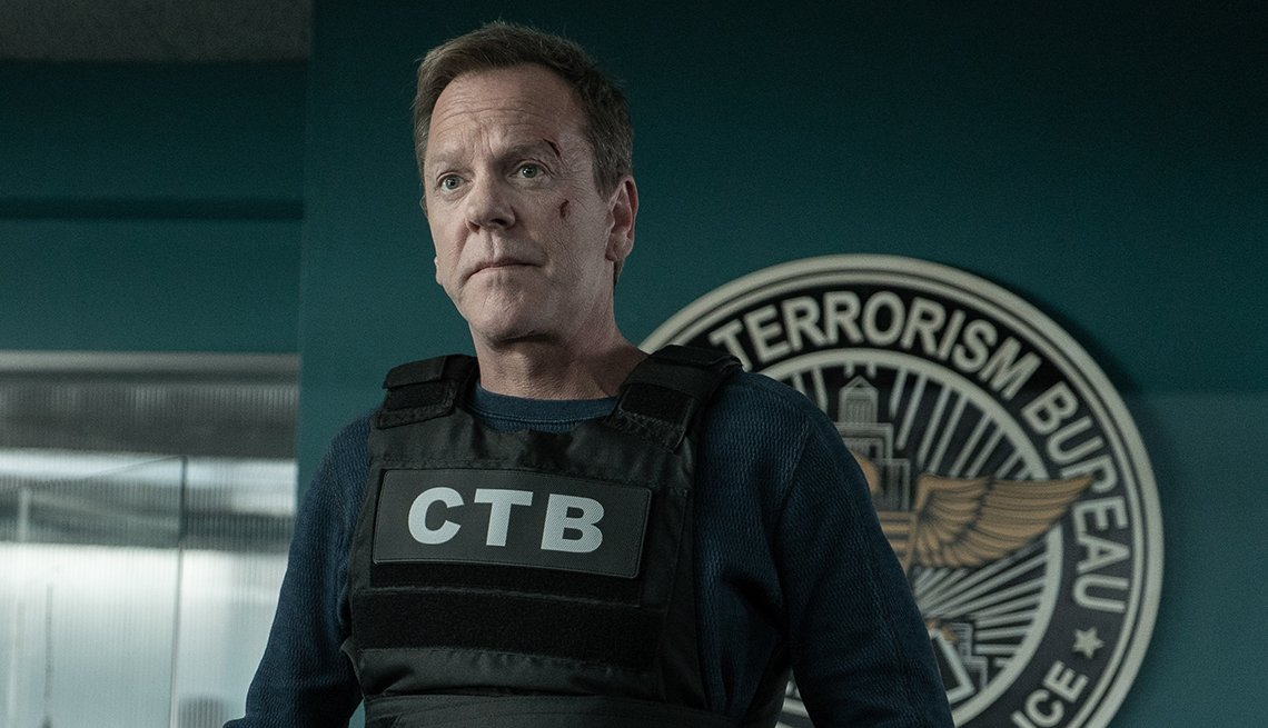 Kiefer Sutherland protagoniza en 'The Fugitive'