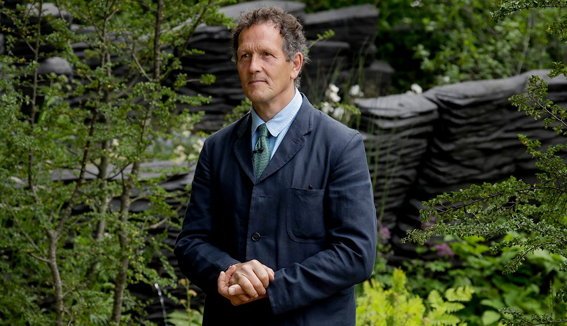 Monty Don the lead presenter of British television show Gardeners World