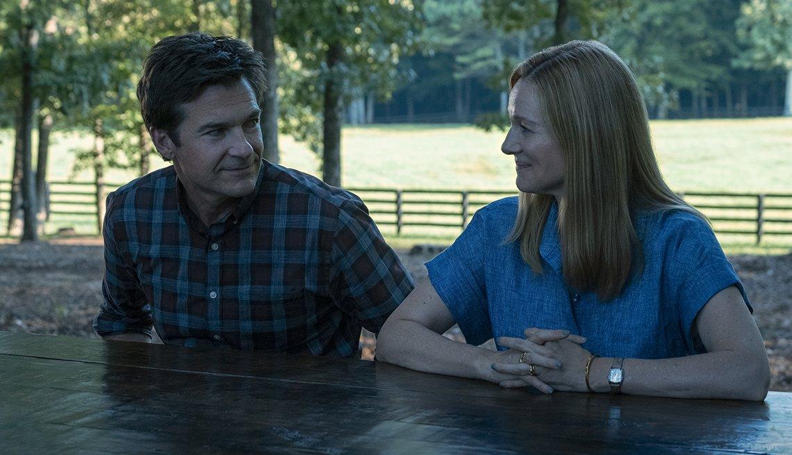 Jason Bateman and Laura Linney star in the Netflix show Ozark