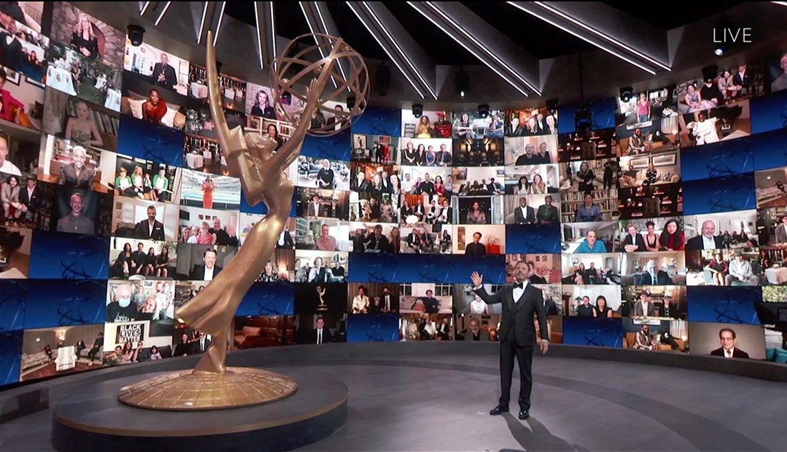 Jimmy Kimmel fue el presentador de los premios Emmy del 2020