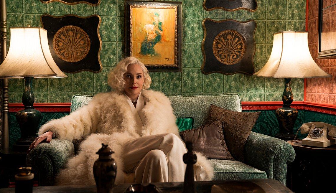 Sharon Stone protagoniza la nueva serie 'Ratched'