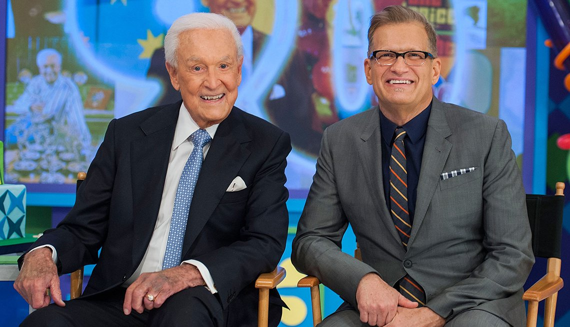 Bob Barker and Drew Carey