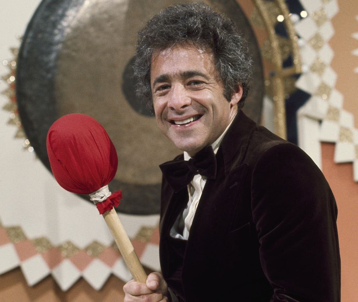 Chuck Barris, the host of The Gong Show
