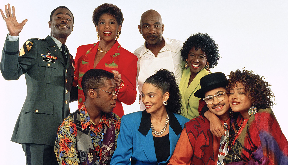 The cast of A Different World