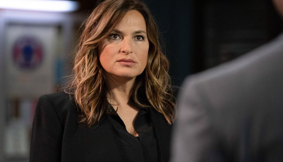 Mariska Hargitay en Law and Order: Special Victims Unit.