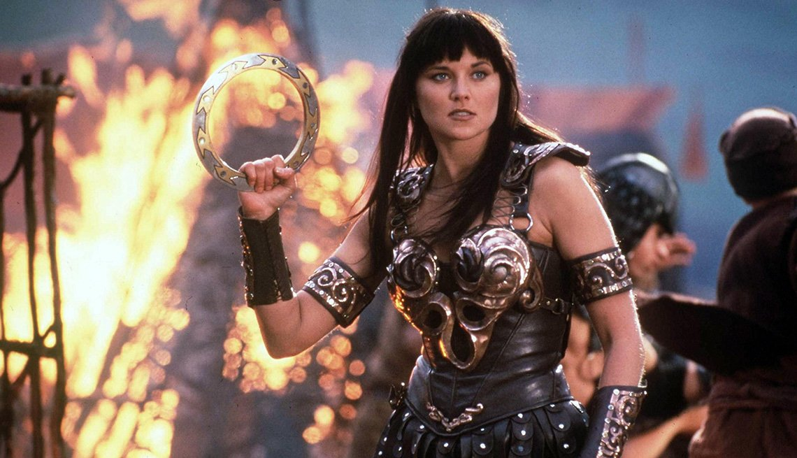 Lucy Lawless stars in Xena: Warrior Princess