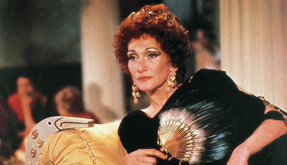 Sian Phillips as Livia in the TV series I Claudius