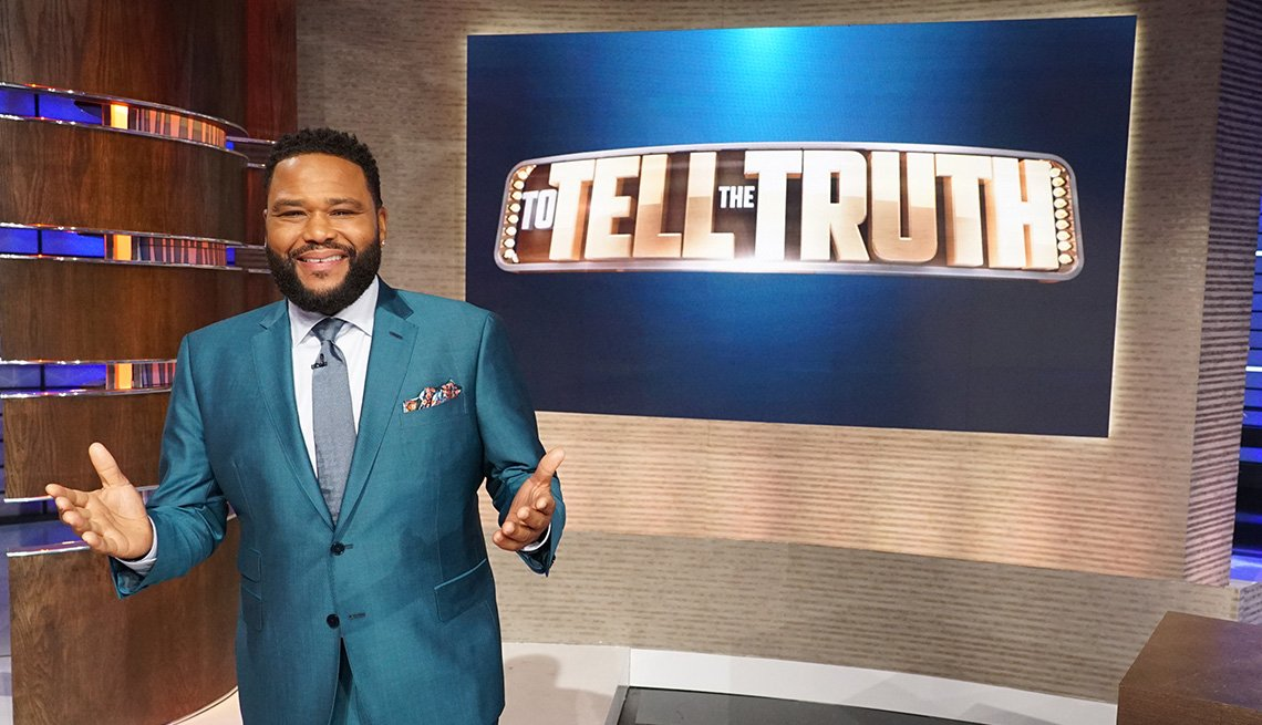 Actor Anthony Anderson hosts the classic game show To Tell the Truth