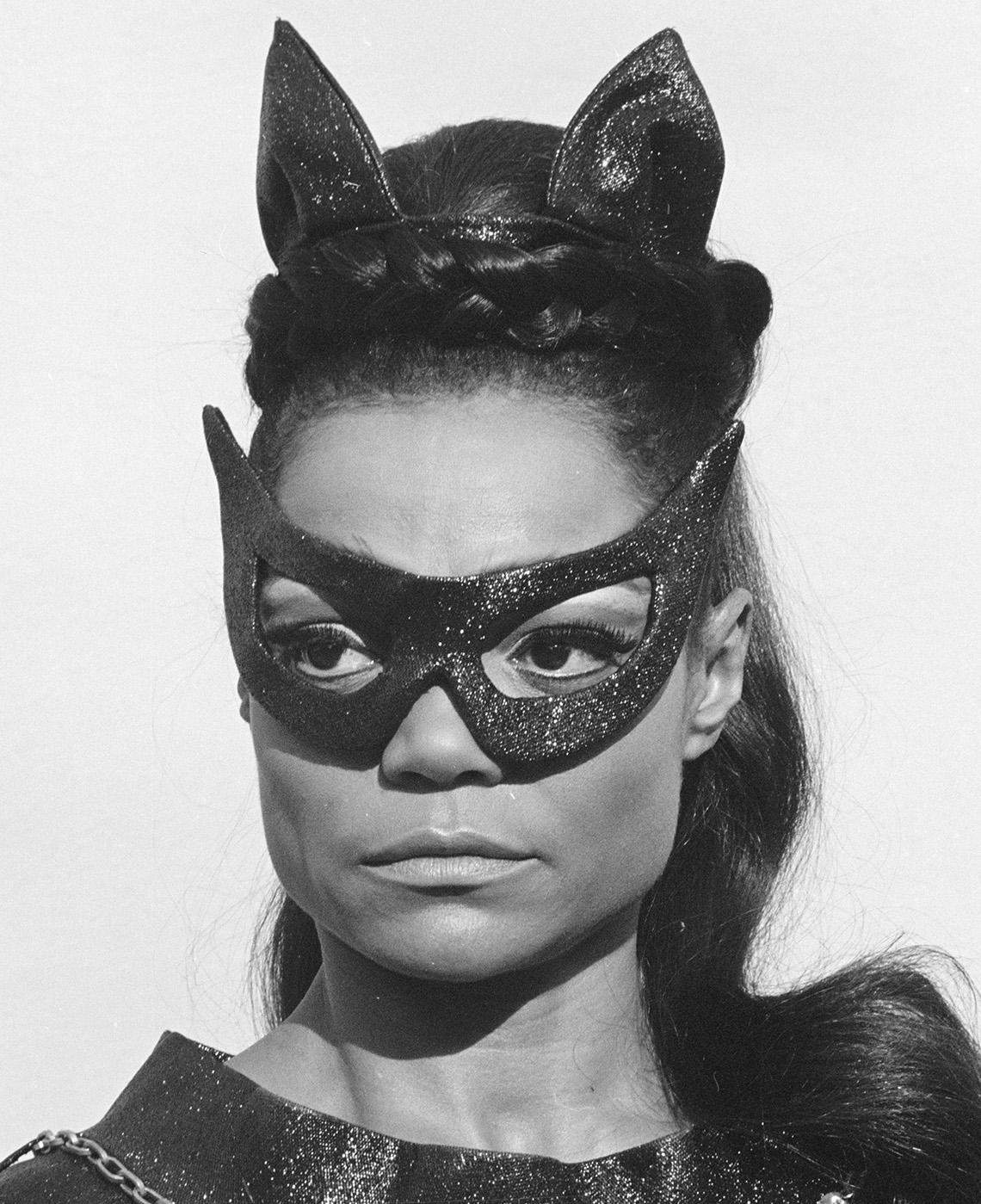 Eartha Kitt stars as The Catwoman in the TV series Batman