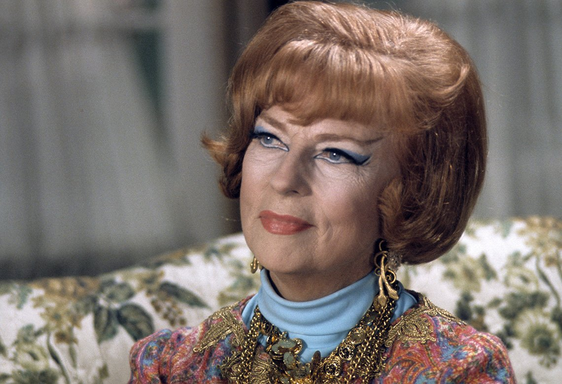 Agnes Moorehead as Endora on the TV show Bewitched