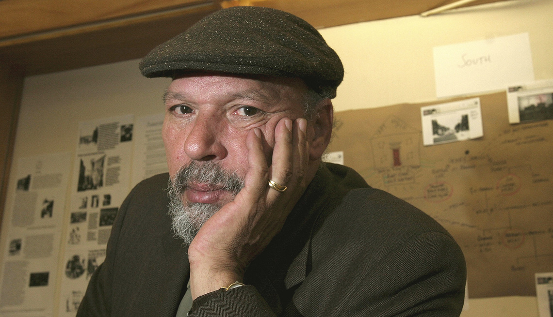 Playwright August Wilson