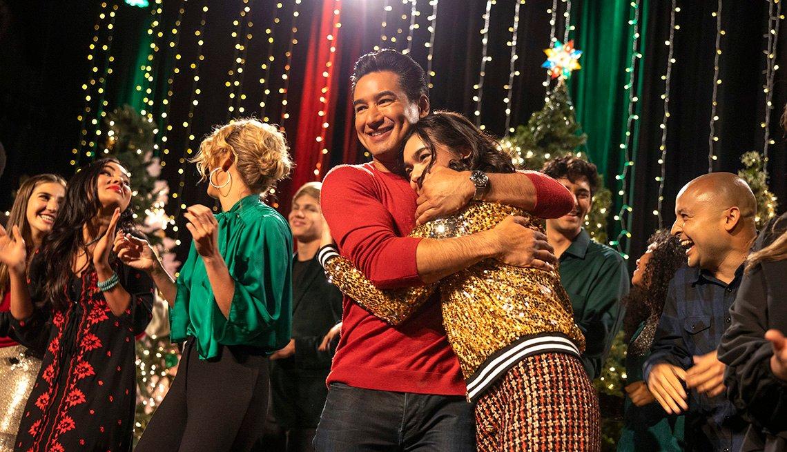Mario Lopez stars in the Lifetime film Feliz NaviDAD