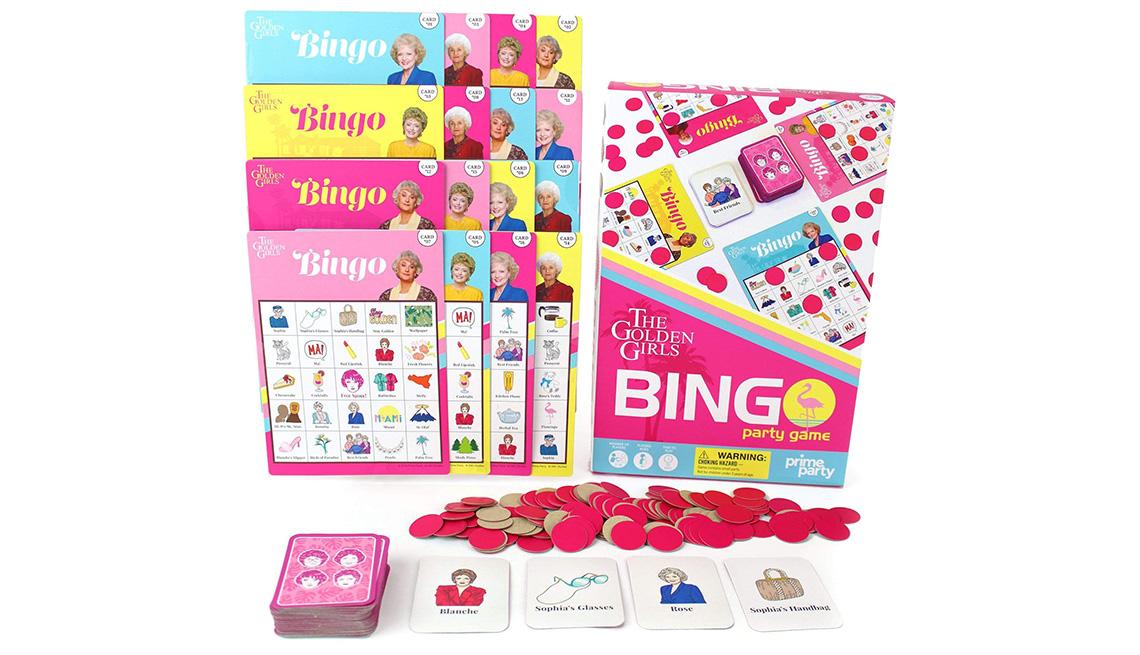 Golden Girls Deluxe Bingo Party Game