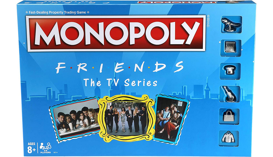 Monopoly: Friends The TV Series board game