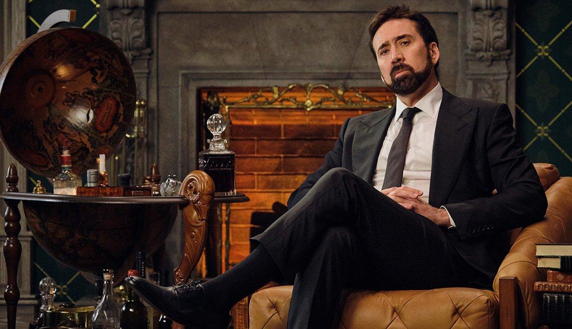 Nicolas Cage en una escena de la serie History of Swear Words