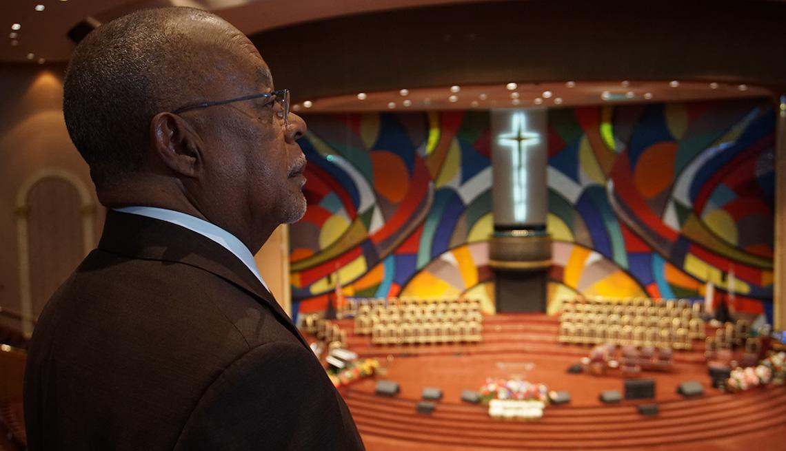 Henry Louis Gates Jr. en la iglesia West Angeles Church of God In Christ.
