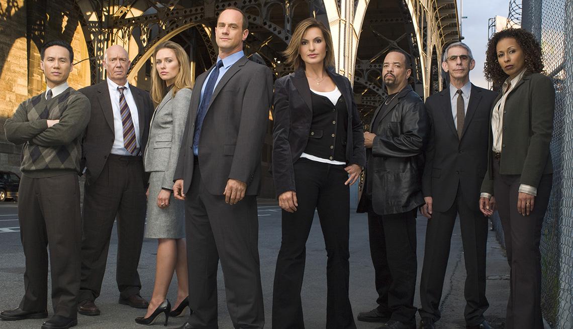 """Elenco de """"Law & Order: Special Victims Unit""""."""