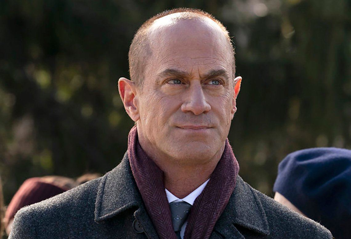 Christopher Meloni in Law and Order Organized Crime