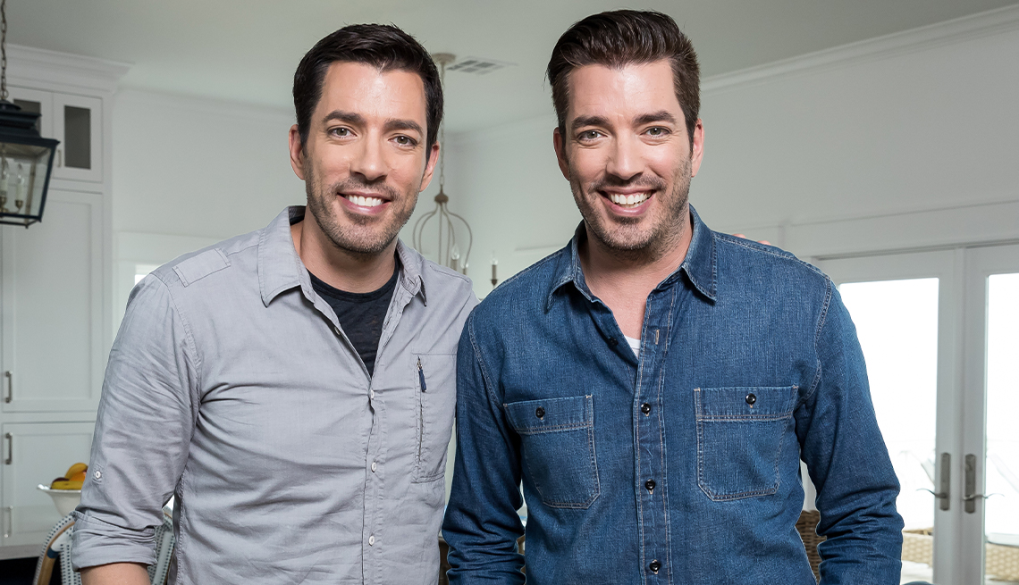 the property brothers on set