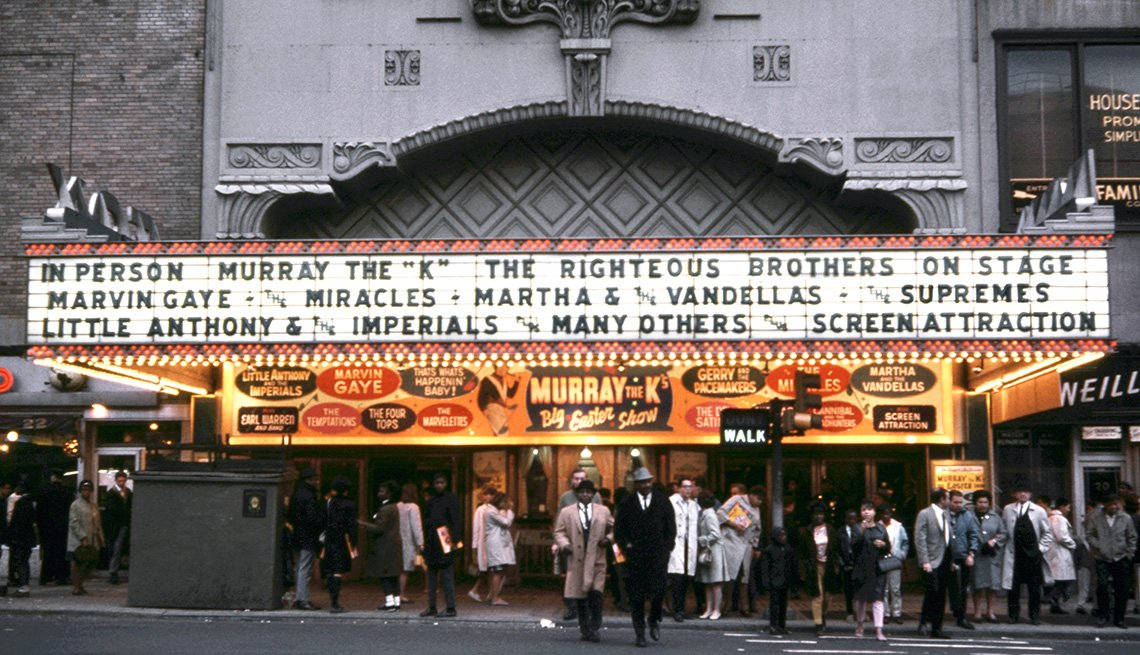 The marquee at of Brooklyn's Fox Theatre