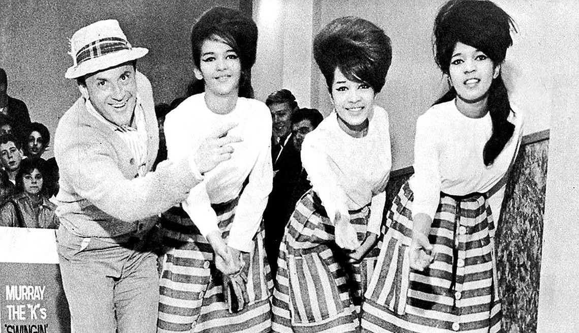 Murray the K with The Ronettes