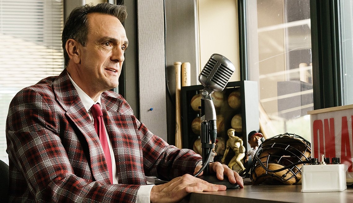 Hank Azaria stars as Jim Brockmire in the TV show Brockmire