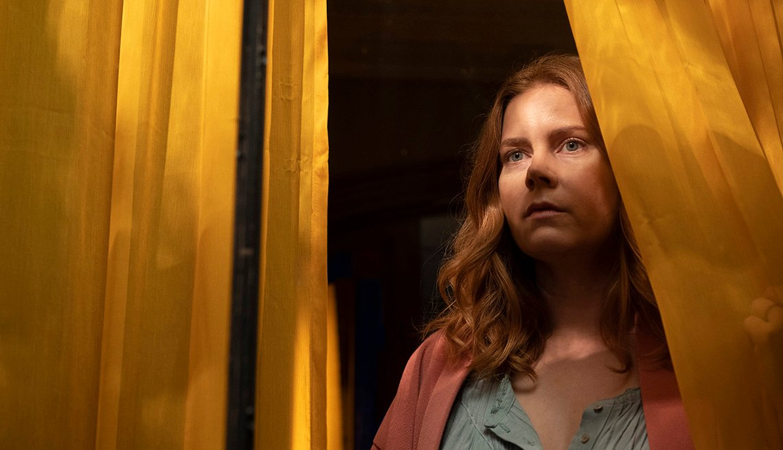 Amy Adams stars in the film The Woman in the Window