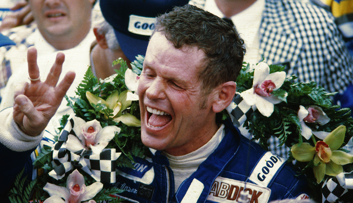 item 27 of Gallery image - Race car driver Bobby Unser