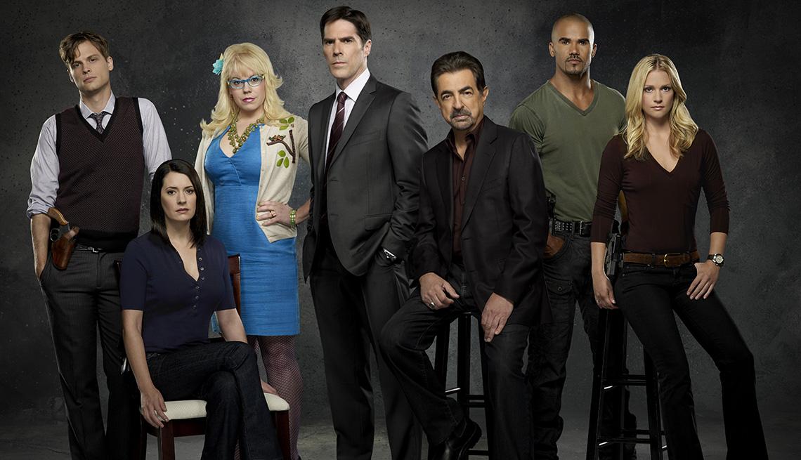 """El elenco de """"Criminal Minds""""."""