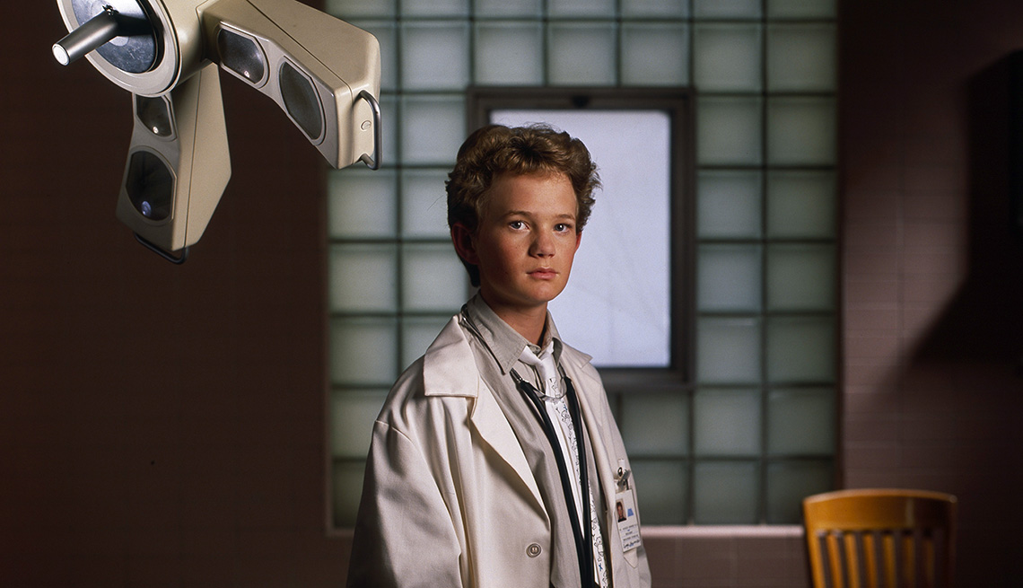 "Neil Patrick Harris protagoniza ""Doogie Howser, M.D.""."