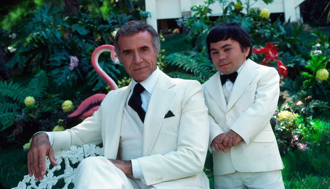 Ricardo Montalban and Herve Villechaize star in Fantasy Island