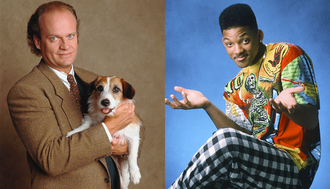 Kelsey Grammer y Will Smith.