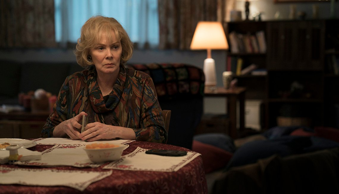 Jean Smart in a scene from the HBO limited series Mare of Easttown