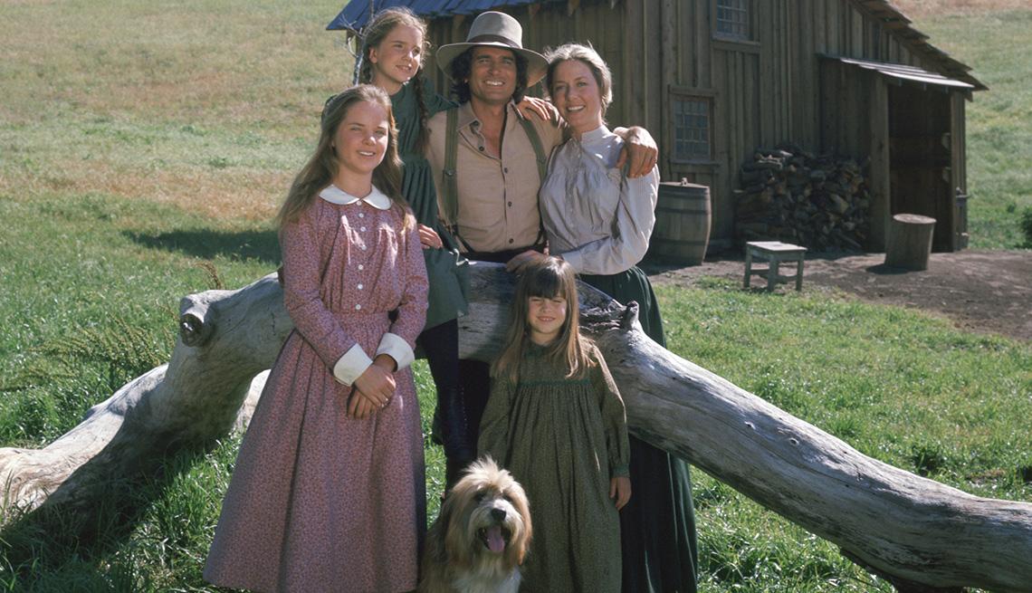"El elenco de ""Little House on the Prairie""."