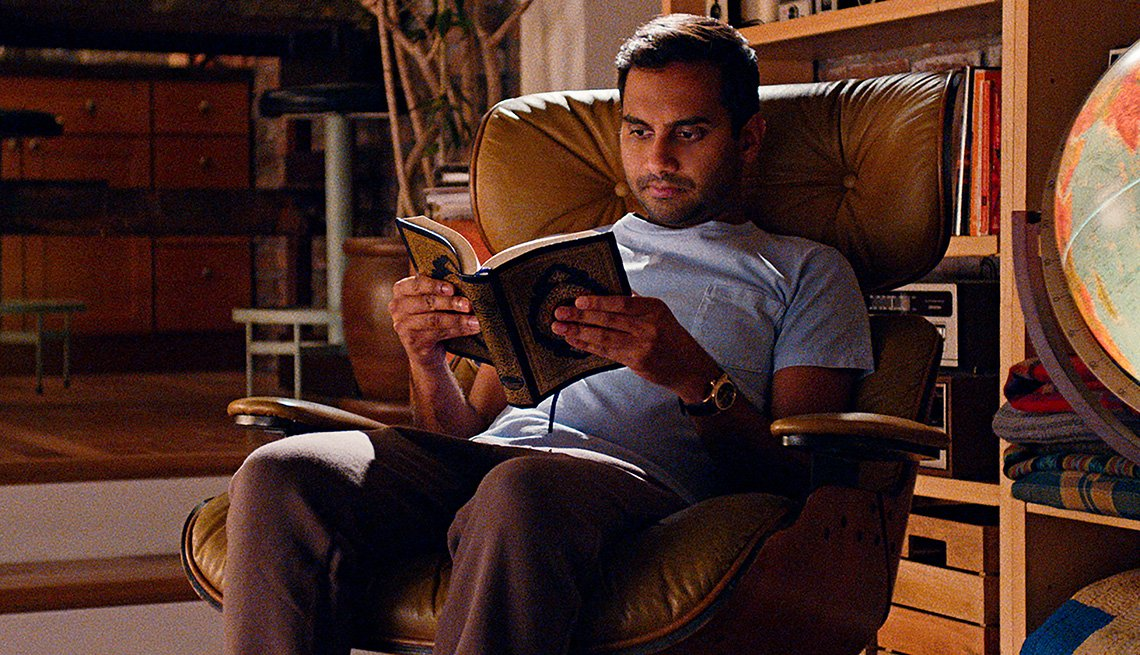 Aziz Ansari in the Netflix series Master of None