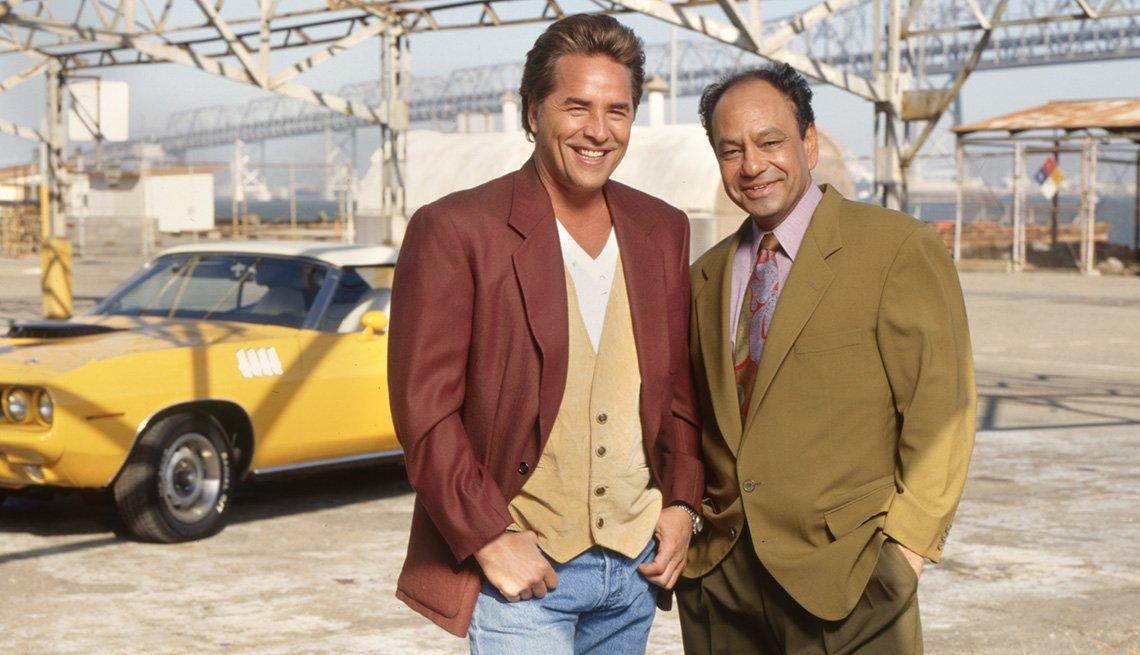 Don Johnson and Cheech Marin star on Nash Bridges