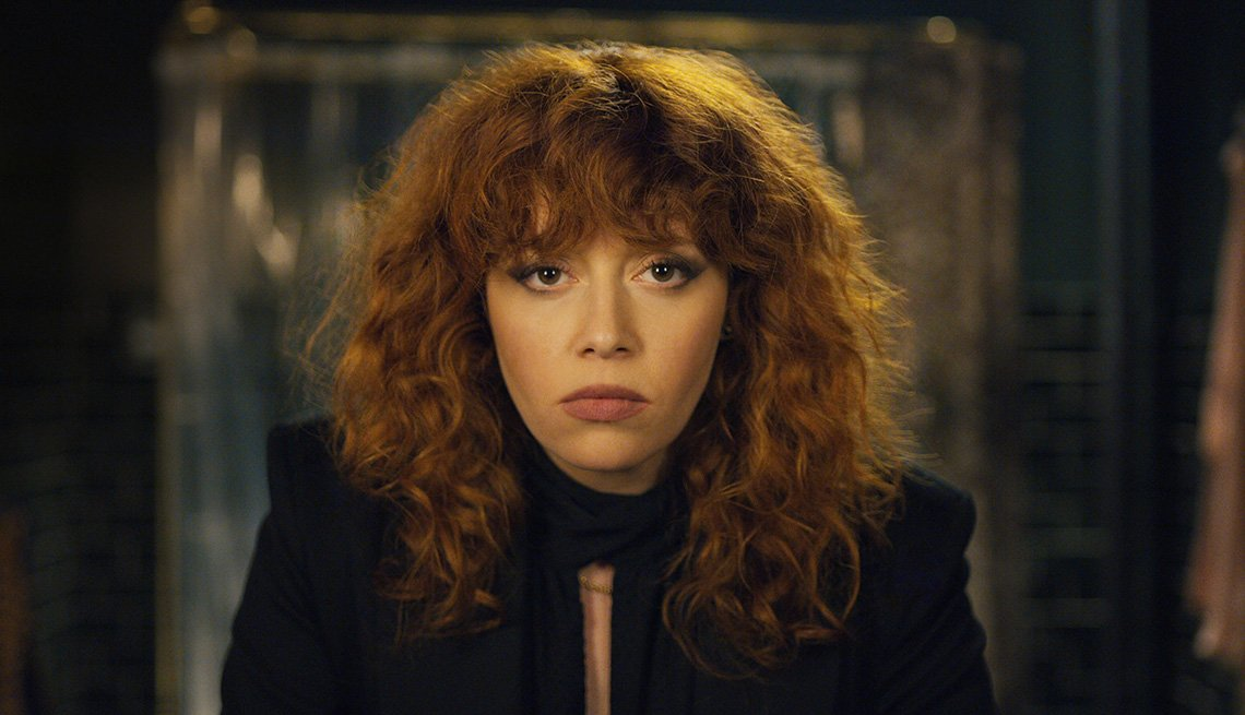 Natasha Lyonne stars in the Netflix series Russian Doll