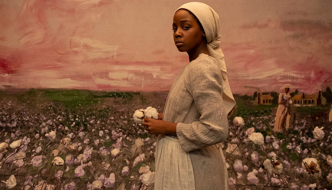 Thuso Mbedu stars as Cora Randall in the Amazon limited series The Underground Railroad